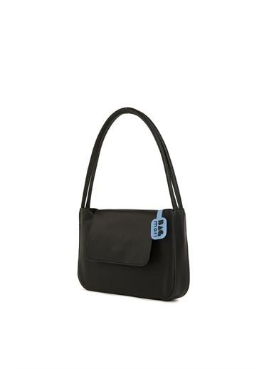 Bagmori  Kadın Çift Askılı Kapaklı Kalıp Baget M000006055 Siyah
